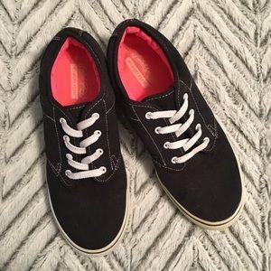 Black Faded Glory Memory Foam Sneakers